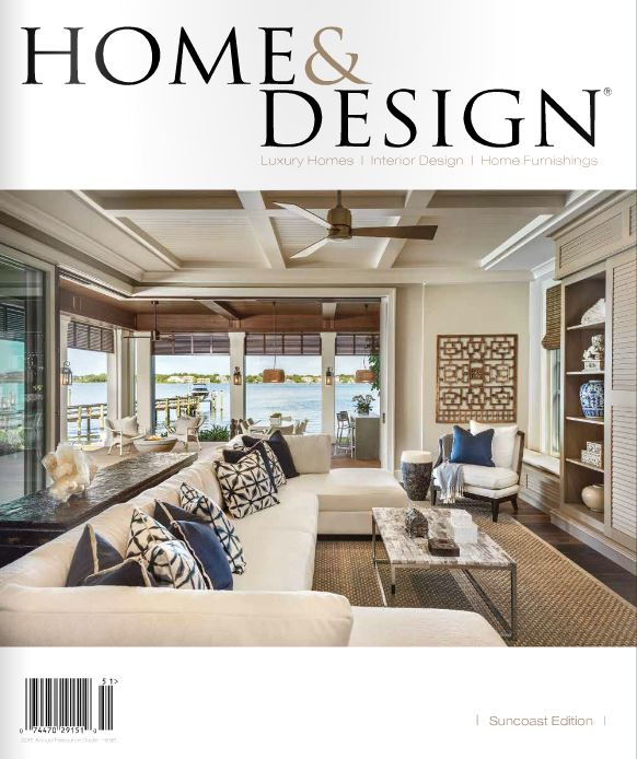 Home And Design Magazine Jan 2015 Cover Setting By Mona
